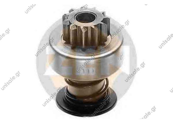 ERA ZN0111 ΓΡΑΝΑΖΙ ΜΙΖΑΣ  BOCSH  Freewheel Gear, starter Features:  Teeth: 11  Diameter zubchatki: 29.5  Rotation: CW  Slots: 10  Total length: 64