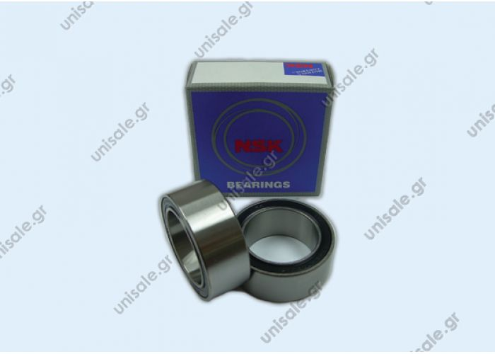 32BD4718DU  NSK ( 47 X 32 X T18MM ) NSK Air Conditioner Bearing 32BD4718DU double row angular bearing size 32*47*18mm for mechanical