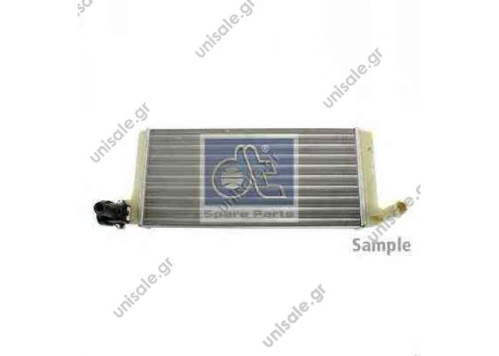 002 835 08 01 (0028350801  Ψυγείο καλοριφέρ Mercedes SK    MERCEDES A0028355701 Heat Exchanger, interior heating BEHR HELLA SERVICE 8FH 351 312-311 (8FH351312311), Heat Exchanger, interior heating  MERCEDES NG	1973-1996 SK	1987-1996