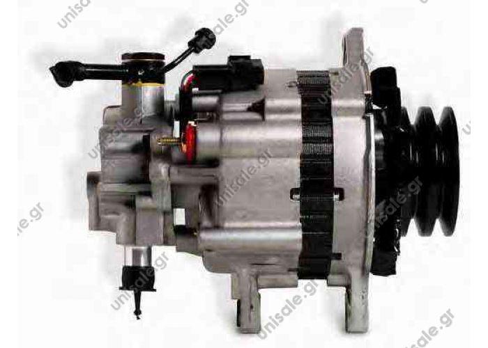 HYUNDAI 450199 Alternator Hyundai Galloper Ii 2.5 Td 65kW 88Cv 08/1998> 12/03 Ta000A24201   Alternator For Hyundai D4BB,D4BF,37300-42502,37300-42620,37300-42621  HerstellerModell HyundaiAD165-206 HyundaiAD165-440 HyundaiAD165-444 HyundaiAD165-454
