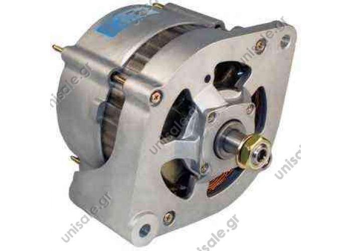 SCANIA 55A  858882 Prestolite alternator  SCANIA143 H Lichtmaschine Generator 24V 55A SCANIA Serie 2 3 T R 142 143 112 113 82 92 93