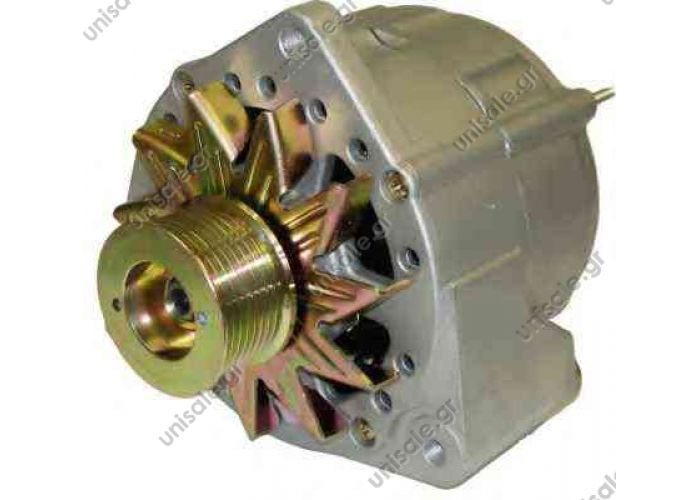 MERCEDES 28V 55A 0986030520 BOSCH 0 986 030 520 (0986030520), Alternator PRESTOLITE ELECTRIC 860143, Alternator