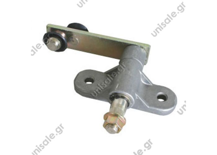1.22120 wiper Scania 4 Series Right    Right wiper with double ball bearing for Scania 4 Series  OE number 0th 525 892  the 1,337,958th  SCAVIA 1525891/1337957 SCANIA 4 P.R,T.TRUCK DT 1.22119 (122119), Wiper Bearing