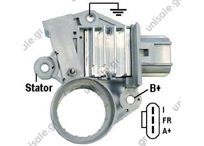 18776 TRANSPO  Regulator FORD 14.4V [I-FR-A+] 7s/LRC white