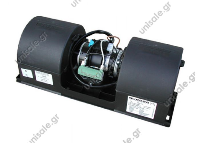 131-602-0450    AURORA DRG 1200 24V 4-speed  Double blower Aurora DRG1200  SKU: 131-602-0404  Evaporator blower > Buses > Renault  24V, 3-speed  Re.: . 1316020014 , 1316020103 , 81779306063