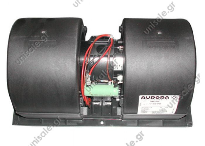 20220100 ΤΟΥΡΠΙΝΑ ΣΑΛΙΓΚΑΡΟΣ ΔΙΠΛΟΣ    Evaporator blower > Buses >   Man / Neoplan  Double blower Aurora DRG1200  24V, 3-speed  Re.: . 1316020014 , 1316020103 , 81779306063