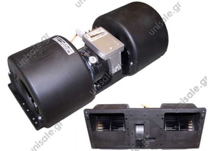 20220151 SPAL ΜΟΤΕΡ  ΣΑΛΙΓΚΑΡΟΣ  ΔΙΠΛΟΣ  006-B40/VLL-22 4 speed RA4VCV  Evaporator blower > Buses > Thermoking 1E05245G01 Thermoking 4 speed    OE: 1E05245G01 - 781034 - 781198 - 781297