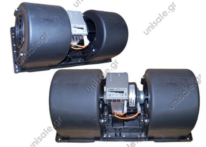 20220152 SPAL ΜΟΤΕΡ  ΣΑΛΙΓΚΑΡΟΣ  ΔΙΠΛΟΣ Evaporator blower > Buses > Thermoking 4 speed 1E05245G01 - 781034 - 781198 - 781297 - 87544840000