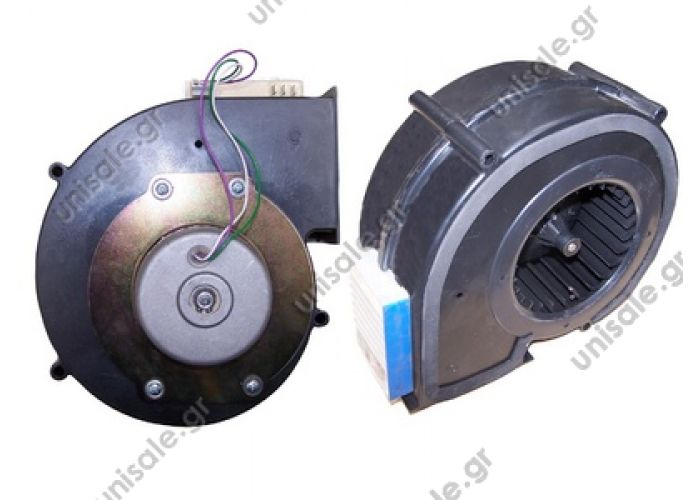 HISPACOLD 5300066  ΜΟΤΕΡ    20220158 Left Axial motor fan Hispacold OE: 5300066 24V, left hand side.Ref  5300066 , 62958 Radial blower Hispacold     HISP5300066   Hispacold Blower Assy, Irizar W/Sp Cont, N/S   5300066 Brushless Evaporator Blower 24v