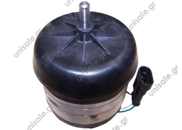 20220160 Condenser motor fan > Buses > Hispacold   OE: 3050071 - 5300069 - 593100  Hispacold Condenser Fan Motor HISP 5300069 & 3050071.   TYPE: 3050071 HISPACOLD brushless Application: The condenser fan motor HISPACOLD in Scania IRIZAR