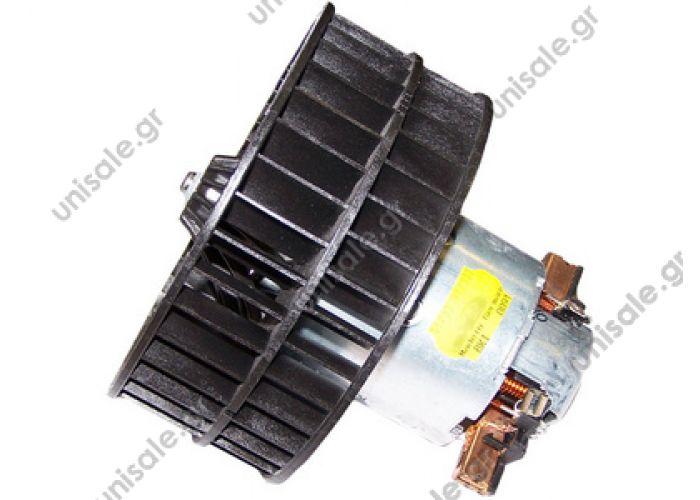 202219300457 Evaporator blower > Buses > Mercedes Benz O 404 A0018302508 0018302508 MERCEDES - BusO404-19911999+    Fan motor replaces Hella: 8EW 009 158-601  Art. No. 4.65370 Fan motor