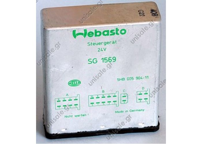 24376D  WEBASTO 24376 CONTROL UNIT 24 V THERMO 90