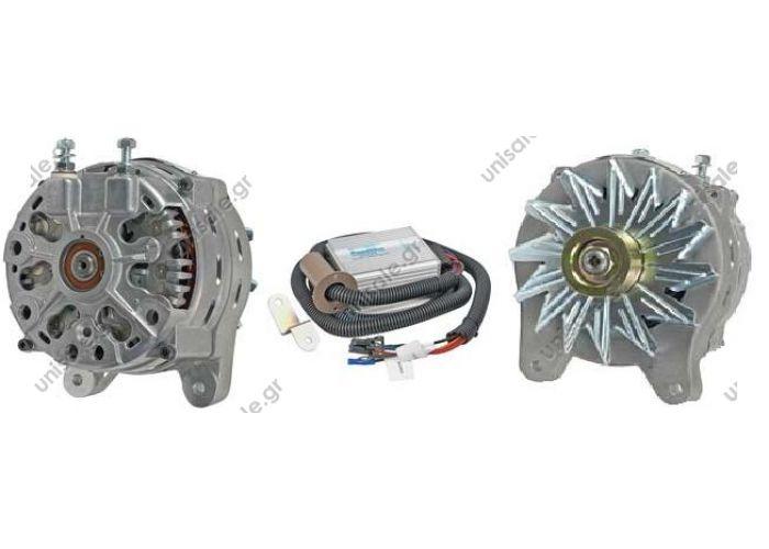 26815 PENNTEX  Alternator FO 12V 200A+external reg+cable set+pul