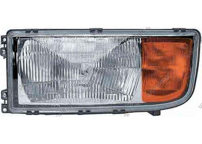 MERCEDES 941 820 53 61 Headlight  1EH008688-051 – HELLA, Mercedes Benz αριστερός προβολέας, αλογόνου    MERCEDES ACTROS1996-... ATEGO1998-2004 AXOR2001-2004