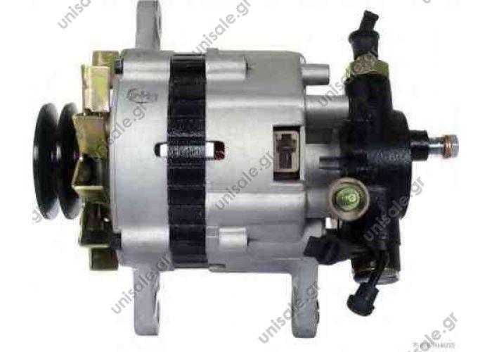 KIA 450194  Sportage 2000 CC Diesel 99/00>. 12 Volt-60 Amp. ΚΑΤΑΛΛΗΛΟ ΓΙΑ : Kia 37300-2W001 . 0K054-18-300C. ΤΡΟΧΑΛΙΑ POLY-V ME 2 ΕΓΚΟΠΕΣ ΜΕ ΑΝΤΛΙΑ.. TOYOTA - HIACE I  (1977-1983) 2.2 D (LH20-30) (1979-1983) Hiace II  LAND CRUISER