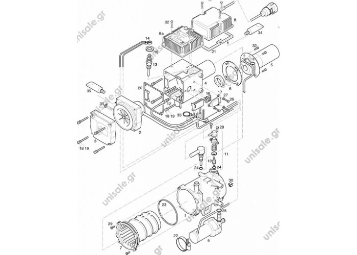 EBERSPAECHER  Hydronic 10 252081050000 - 12V HYDRONIC 10