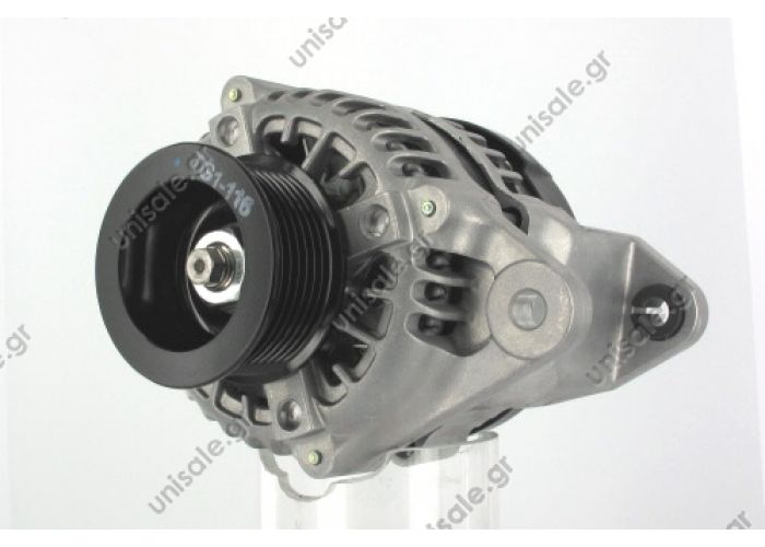 31758 DENSO Alternator ISUZU D-MAX 2.5D 12V VI @ L right hands  Alternator 12V 90A Isuzu D-Max 3.0 Diesel 4X4
