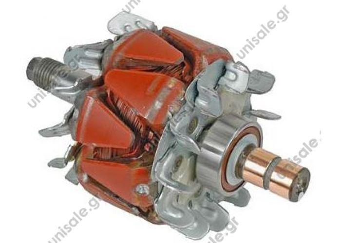 33026 DENSO - ROTOR  Rotor NIPPONDENSO 76.4/135.2 12V 50A 2VI