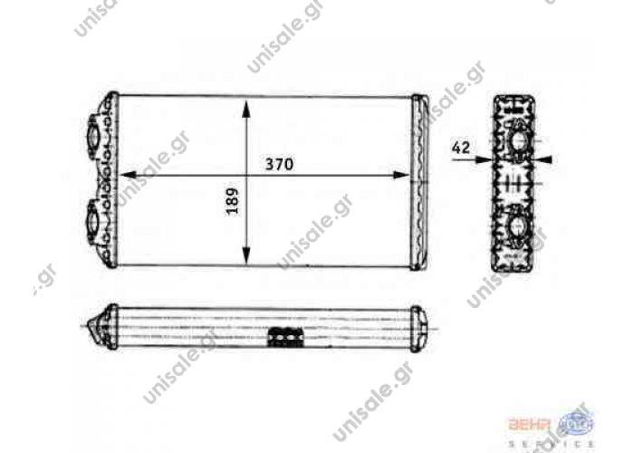 MAN F 2000, M 2000 M, 8FH 351 312-441/9200775 BEHR HELLA SERVICE 8FH 351 312-441 (8FH351312441), Heat Exchanger, interior heating   MAN F 20001994-... M 2000 M1995-2005 Advertisement