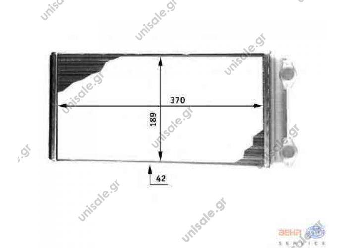 VOLVO FL 7, FL 10, 8FH 351 312-491/9200817 HELLA 8FH 351 312-491 (8FH351312491) Heat Exchanger, interior heating