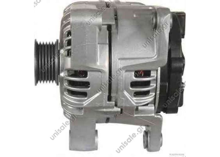 BOSCH ΔΥΝΑΜΟ 12V 120A OPEL VECTRA D BOSCH 0 124 515 005 (0124515005), Alternator OPEL ASTRA G Box	1999-2005 ASTRA G Estate	1998-2009 ASTRA G Hatchback	1998-2009  OMEGA B	1994-2003 OMEGA B Estate	1994-2003 VECTRA B	1995-2002 VECTRA B Estate