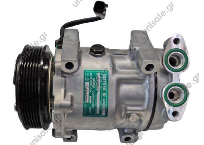 40405307   ΣΥΜΠΙΕΣΤΗΣ A/C ΚΟΜΠΡΕΣΣΕΡ FORD     Focus C-Max 1.6 TDCi Compressor, air conditioning  Συμπιεστής (κομπρέσσορας)    Sanden original 7V16 FORD FOCUS II/C-MAX     1248 / 1255 / 3M5H19D629GD / 3M5H19D629SA / 3M5H19D629
