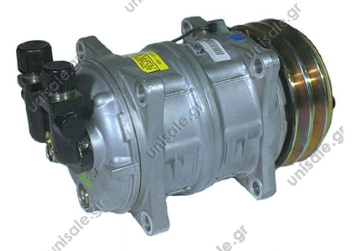 ΣΥΜΠΙΕΣΤΗΣ SELTEC TM15 132A2 24V V-OR  Zexel  MAN TM15 HD OR Vertical 24V 5 TM15 2A 24V COMPRESSOR VALEO ZEXEL