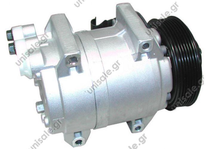 40430131 Compressors > Cars >TSP0155361 Compressor A / C Zexel DKS17D; 123 mm; PV6; 12V; H; Volvo S60; S80; V70     Volvo S60   VOLVO : 8684287, 8602359, 8602278