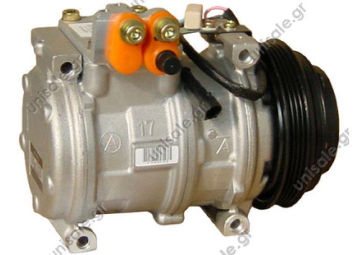 40440050  Compressors  Astra HD 8 42 - 44  10PA17C     OE: 504228992 - 504385144 - 98497470 OE Vergleichnummern: 98497470, 098497470, 504228992, 35381, 8FK 351 108-971