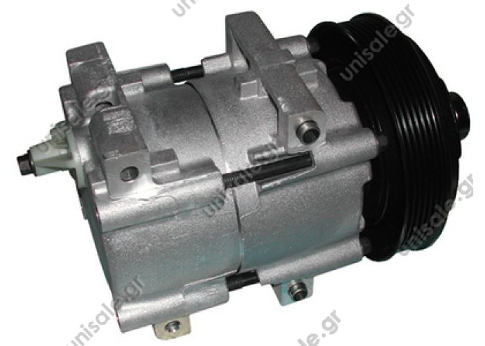 40440087 Compressors   Cars   Mazda   121 1.3     TSP0155111 Kompresor A/C Visteon FS10; 143mm; PV6; 12V; H; Ford Transit