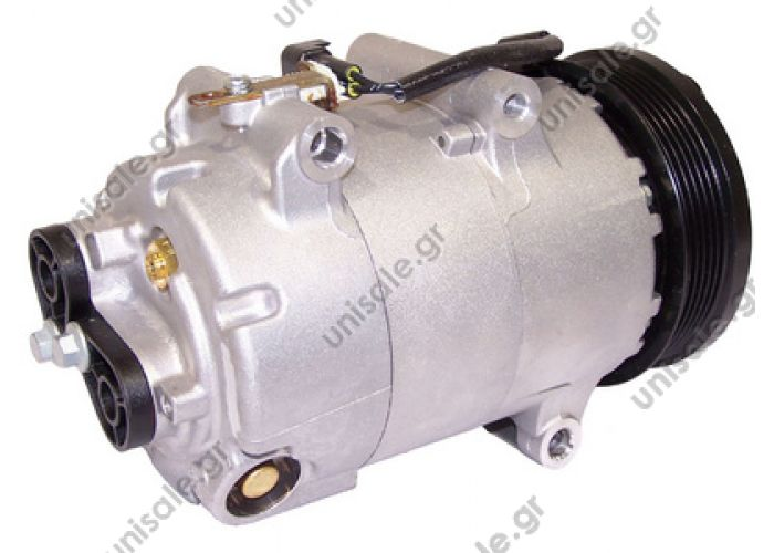 40440118  ΣΥΜΠΙΕΣΤΗΣ A/C ΚΟΜΠΡΕΣΣΕΡ FORD    Compressor Visteon complete compressor  S40 II Serie / V50 2.0 D FORD : 1437621   TSP0155407 Compressor A / C Visteon VS; 110 mm; PV6; 12V; H; Ford Focus; C-Max; Volvo S40; V50