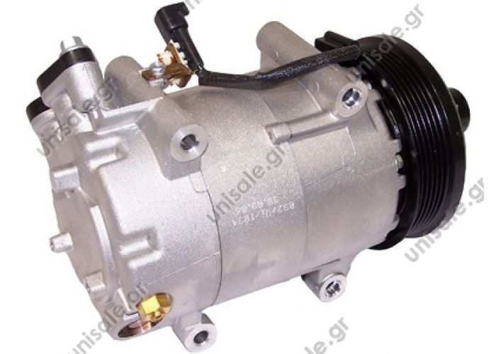 40440119  ΣΥΜΠΙΕΣΤΗΣ A/C ΚΟΜΠΡΕΣΣΕΡ  FORD FOCUS   Visteon complete   S40 II Serie / V50 1.6 tdi TSP0155406 Compressor A / C Visteon VS; 110 mm; PV6; 12V; V45 °; Ford Focus; C-Max     1016001034 / 1306784 / 1341233 / 1355809 / 1438877