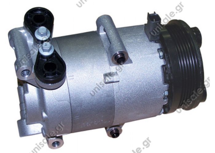 40440120  VISTEON    Focus II Serie 1.6 - 2.5  Compressors  Focus C-Max 1.6 1333040 TSP0155443 Compressor A / C Visteon VS; 110 mm; PV5; 12V; IN; Ford Focus; C-Max  FORD : 3M5H19497AC, 1432767, 1432770, 3M5H19497AA  1333040
