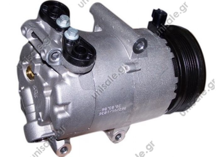 40440121 Compressors > Cars  S40 II Serie / V50 1.8  TSP0155444 Compressor A / C Visteon VS; 110 mm; PV5; 12V; IN; Ford Focus; C-Max; Volvo S40; V50    DENSO 	 DCP10019