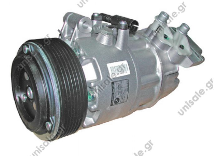 40440139 ΣΥΜΠΙΕΣΤΗΣ  BMW  COMPRESSOR, NEW, CALSONIC BMW 3-SERIES E46 6PV OE:64526908660   64 52 6 908 660  Compressor, air conditioning    BMW E46 Serie 3 316i - 318i - 320i  BMW compressor (64509182795 64526908660 64526918751 64529145352)
