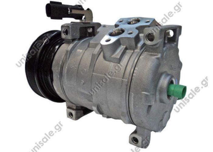 40440175  DCP06012  Συμπιεστής AC   Compressors Pt Cruiser 1.6 - 2.0 - 2.4 / 2.2 CRD  Pt Cruiser 2000-2010 Βενζινοκινητήρας 2000cc 141ps 2400cc 150ps 1600cc 116ps GT 2400cc 223ps 2400cc 143ps 2000cc 136ps Πετρέλαιο 2200cc CRD 121ps