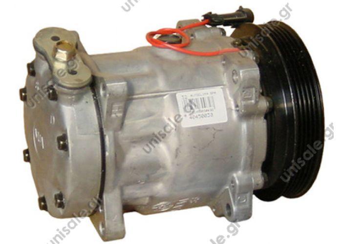 40450030     Συμπιεστής A-C (Κομπρέσορας)   Alfa Romeo  155 1111 / 60602694  Compressor SANDEN 7V16, pulleys 138 mm - PV5 12V OEM 60,602,694,