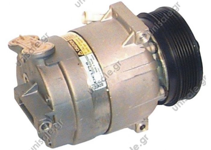 40450074CP    Compressor Delphi (harrison) OEM     Saab    9-5 2.2 TiD Description: DIAM N GOR	TENSION	TYPE 125_PV6	12	V5 Corresponding OEM codes: 1854067 1854079 1854091 1854106