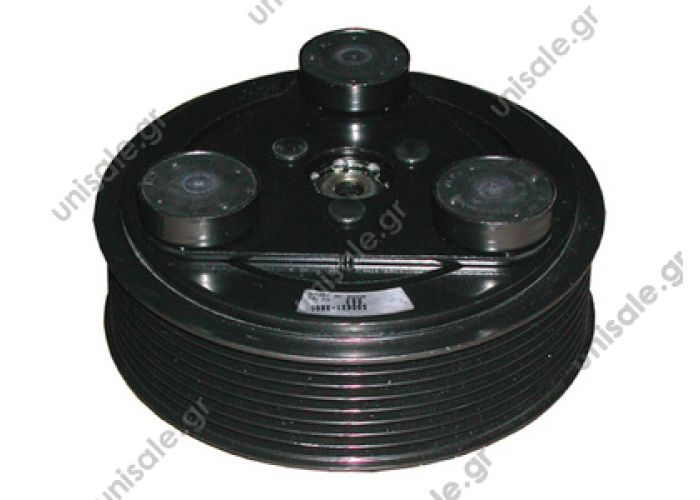 "40455004  TM08/13/15/16 HD 12V Poly-V 8 5"" Ø125mm OE: 107262 - 3RCC207       Spare parts for compressors > Clutch > Zexel"