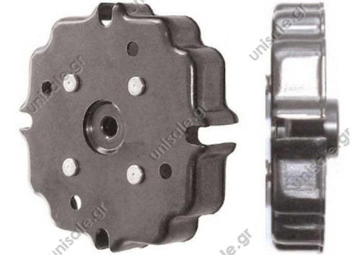 40455122  Spare parts for compressors > Clutch  > Denso Clutch cover 6SEU12C / 7SEU16C-17C