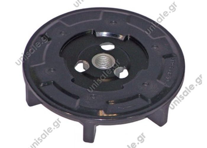 40455123 Spare parts for compressors > Clutch > Denso Clutch plate 6SEU14C / 7SEU17C  Disc Couplings AC-05DN03 5DN3 5DN03 DENSO on the eraser to compressors: 6SEU, 7SEU, 5SL, 5SE numbers Interchange: EK2382 Other disc clutches: