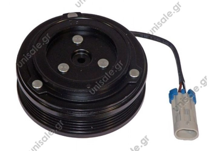 40455131 ΤΡΟΧΑΛΙΑ ΚΟΜΠΛΕ     Spare parts for compressors > Clutch > Harrison  CVC 12V Poly-V 5 Ø105mm X OPEL