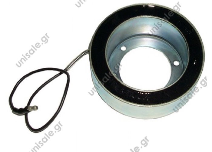 4046050129  SANDEN  ΠΗΝΙΟ ΤΡΟΧΑΛΙΑΣ   508/510 / 5H14 Voltage: 24V  Height (h): 38.5 mm  Diameter: Ø  72 mm diameter: Ø  103 mm  Housing Diameter: Ø  50 mm  24v OE: 300401826 - 50403 - 834656 CC092 CLUTCH COIL SD5H14 24V