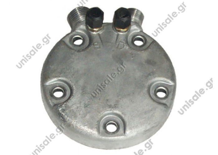 SANDEN SD5 4046083512.1Serie 5 OR Vert with valves HEAD, SANDEN, VERT O-RING 508 & 510 OE: 9539-0450