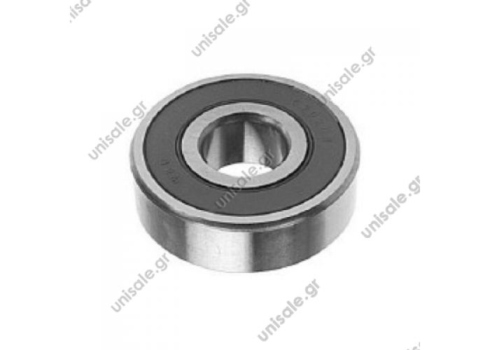 6302 2RS  Bearing 2RS Type Replacing 15mm x 42mm x 13mm