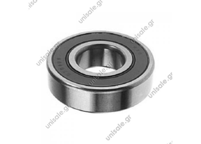 6304 2RS  Bearing  2RS Type Replacing 20mm x 52mm x 15mm
