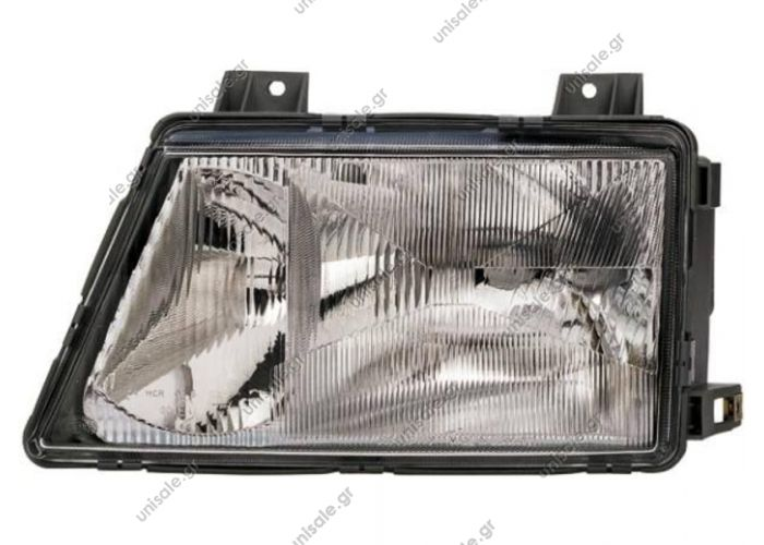 ΦΑΝΟΣ ΕΜΠΡΟΣΘΙΟΣ MERCEDES SPRINTER 02/95-03/00 HELLA 1AH 006 900-011 (1AH006900011), Headlight  MERCEDES A 901 820 01 61 (A9018200161), Headlight