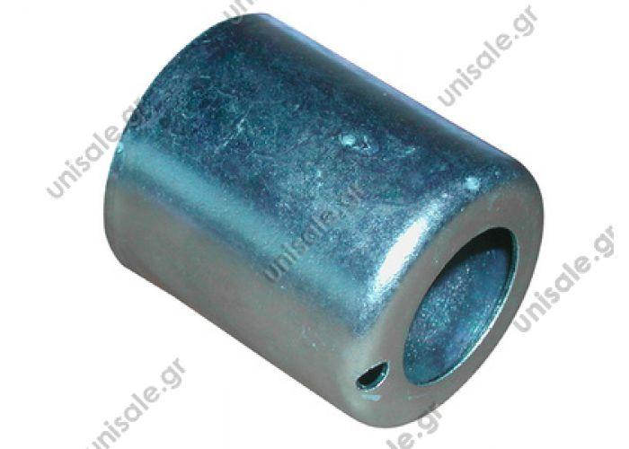 6064309261   ΚΙΑΦΙΑ ΑΛΟΥΜΙΝΙΟΥ-ΣΙΔΗΡΟΥ 58.00095 3/8-1/2-5/8-3/4 Κιάφιa AL   Bush  size G6 steel reduced barieer hose fi 15,5x9.6