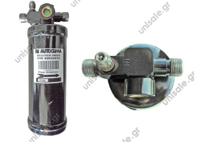 60652015 Standard Receiver Drier M x M with valve