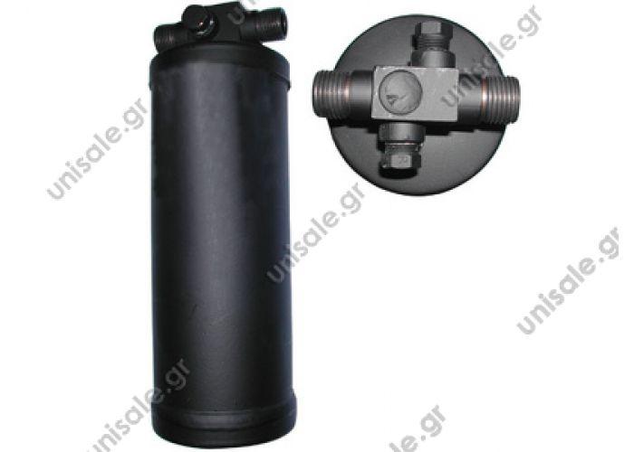 60652045 Φίλτρο Υγρού 3/8*3/8 O-ring Parker με Πλήρωση & τάπα Universal     Standard Receiver Drier M x M CASE : 7778T1 VALTRA : 32814810
